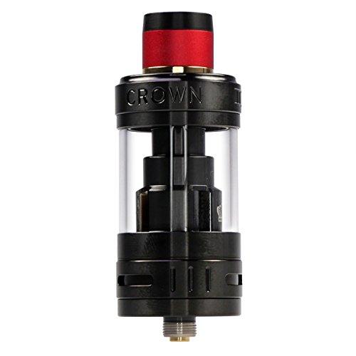 Riccardo Crown 3 Clearomizer 5 ml, Durchmesser 25 mm, Uwell Verdampfer für e-Zigarette, schwarz