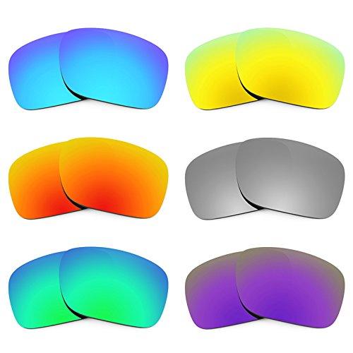 Revant Ersatzlinsen für Oakley Holbrook Polarisiert 6 Paar Kombipack K027