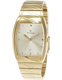Titan Karishma Analog Gold Dial Men's Watch - NE9315YM02A