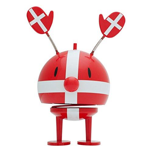 Hoptimist Rolligan Denmark, Fan-Figur, Dänemark, Dekofigur,  (Rot)