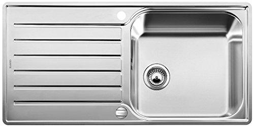 Blanco LANTOS XL 6 S-IF, Küchenspüle, Edelstahl Bürstfinish, reversibel, 1 Stück, 519709