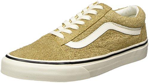 Giallo 44.5 EU Vans Old Skool Sneaker UnisexAdulto Fuzzy Suede/Medal 04r
