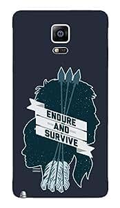 BlueAdda Back Cover for Samsung Galaxy Note 4