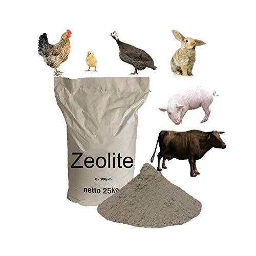 0-200μm Zeolita para cría de Animales 25kg