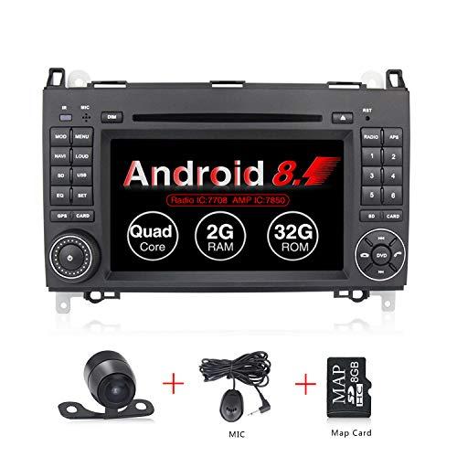 Reproductor De Dvd Para Coche Android 8 1 Pantalla Tactil Gps Radio Estereo De 7 Pulgadas Para Mercedes Benz B200 A B Class W169 W245 Viano Vito