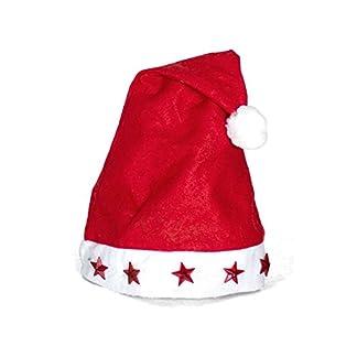 Gorro Papa Noel con Luz 45cm