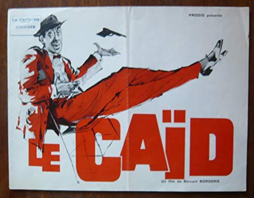 Dossier de presse de Le Caïd (1960) – 63x48cm - Film de Bernard Borderie avec Fernandel – Photos N&B – résumé du scénario - Bon état.