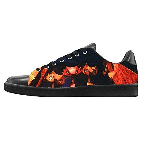 Dalliy Fox Men's Canvas Shoes Lace-up High-top Footwear Sneakers Chaussures de toile Baskets E
