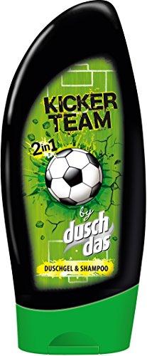 Duschdas Kicker Team Duschgel, 6er Pack (6 x 250 ml)