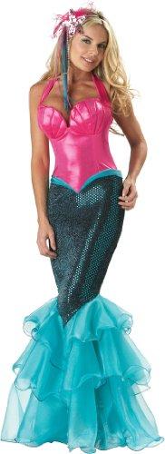 Elite Mermaid Fancy dress costume (Blue Rocky Kostüm)