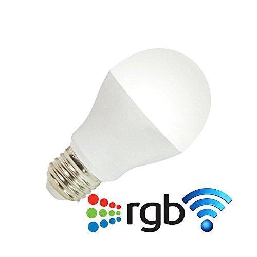 Bombilla led E27 Bulb 6W RGB, RGB