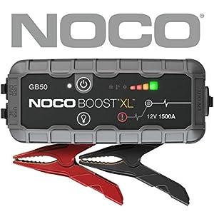 NOCO Boost Pro GB50: UltraSafe 12V Arrancador, Bateria Booster, y Cables de Arranque Gasolina de hasta 7 litros y…