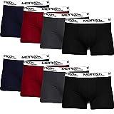 MERISH Boxershorts Men Herren 8er Pack Unterwäsche Unterhosen Männer Retroshorts 216c XL