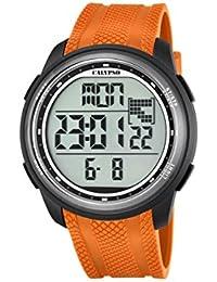 Calypso K5704/2 - Reloj de pulsera Unisex, Plástico, color Naranja
