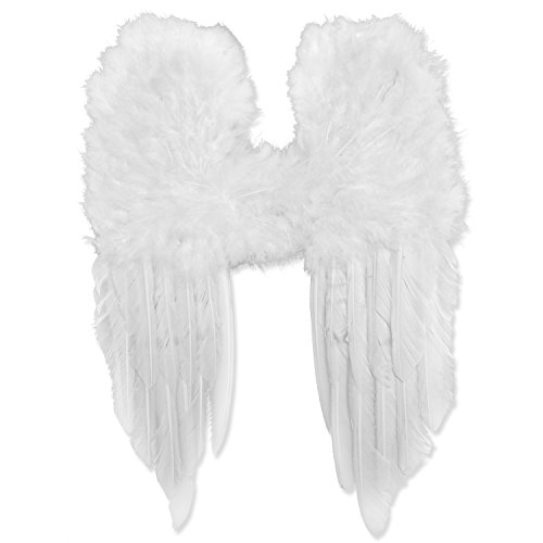 Engelsflügel weiß 30x40 cm Engel White Angel - Für Engelsflügel Kinder