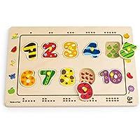 Hape E1500 - Puzzle de encajar, diseño de números - Peluches y Puzzles precios baratos