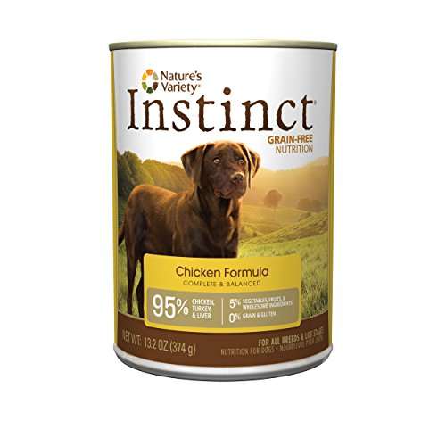 Instinct Getreide Free Natural Wet Canned Hundefutter by Nature 's Vielzahl