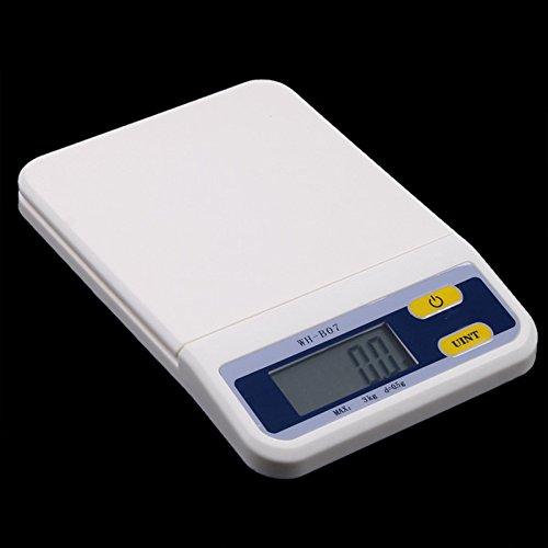 Sypure (TM) 3 kg/0,5 g Digital Balance de cuisine électronique alimentaire balance Poids kg oz LB avec Retail Box