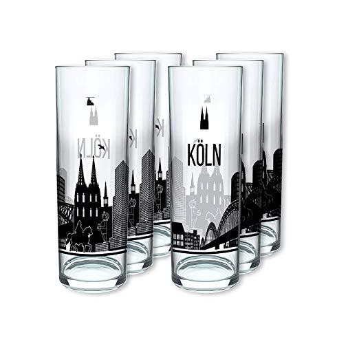 Köln Kölschglas (Skyline) 6er Pack
