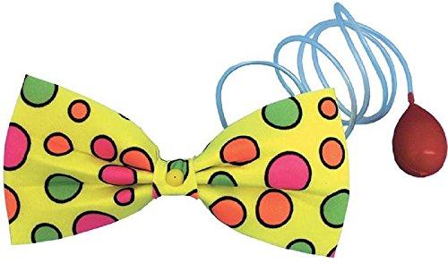 unt Gepunktet Wasser Spritzer Fliege Clown Zirkus Kostüm Kleid Outfit Zubehör ()