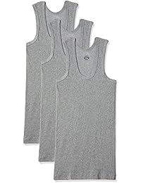 Dollar Bigboss Men's Cotton Vest (Pack Of 3) (8902889480664_MDVE-02-BB-DERBY-GREY MELANGE_90_Grey Melange)