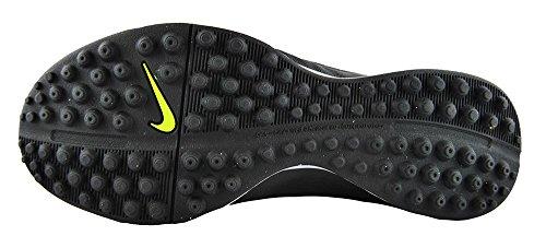 Nike Jr Tiempo Genio Leather Tf, Chaussures de Football Garçon Noir