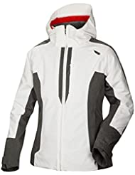 Halti virkku Esquí Jacket Women – White/Grey Melange, color , tamaño 38