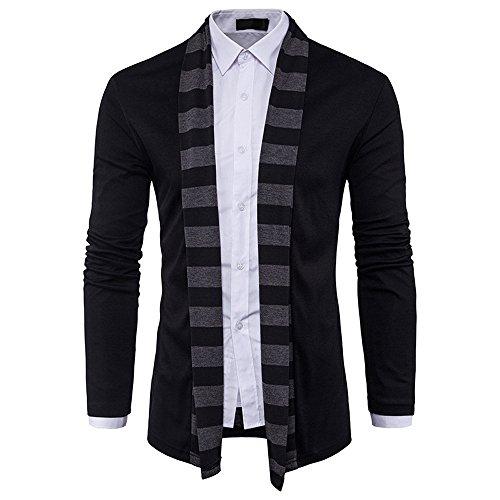 Sport Elegante Gothic Kostüm Tops, Malloom Männer Herbst Winter Pullover Strickjacke Strickwaren Mantel Jacke Sweatshirt