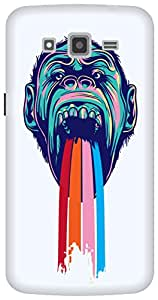 The Racoon Lean Tripping Chimpanzee hard plastic printed back case/cover for Samsung Galaxy Grand