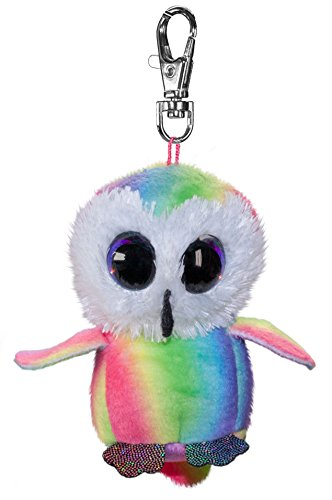 LUMO STARS Owl Stripe Animales de Juguete Felpa Multicolor - Juguetes de Peluche (Animales de Juguete, Multicolor, Felpa, 3 año(s), Búho, Niño/niña)