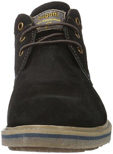bugatti Herren 311179511400 Desert Boots Schwarz (Schwarz 1000)