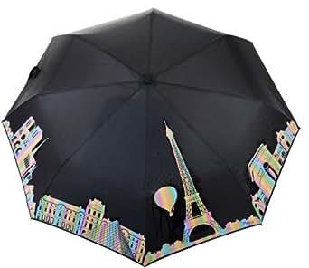 Parapluie qui Change de couleur sous la pluie | Panorama de Paris | Souvenirs de France
