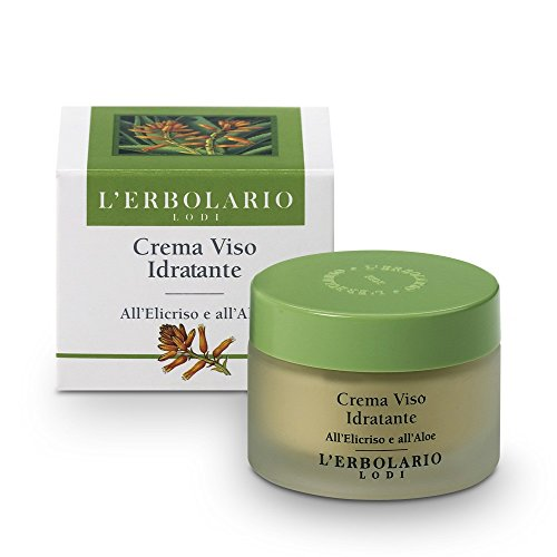 L'Erbolario Feuchtigkeitscreme mit Strohblume und Aloevera, 1er Pack (1 x 50 ml)