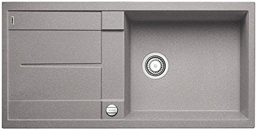 Preisvergleich Produktbild Blanco METRA XL 6 S, Küchenspüle, Silgranit Puradur, alumetallic, reversibel, 1 Stück, 515279