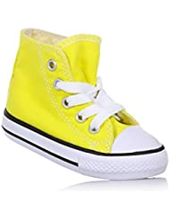 Converse–Chaussures CONVERSE All Star Ct As Hi Canvas jaunes P/et 2017755738C–305511