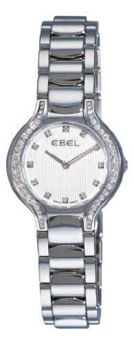 Ebel 9003N18/691050 - Reloj de pulsera mujer, acero inoxidable, color plateado