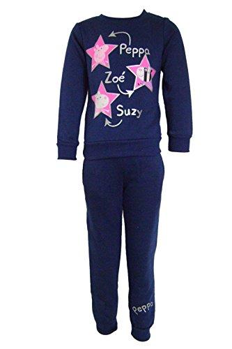 �dchen Collegejacke Trainingsanzug Gr. 4 Jahre, blau (George Halloween-outfits)