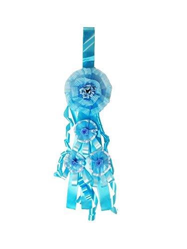 Fiocco nascita azzurro modello baby per la nascita del tuo bimbo ideale come regalo da esterno e interno alta qualita' del prodotto fatto a mano