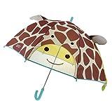 P Prettyia Regenschirm Kinderschirm Kinder Stockschirm Regenschirm - für Mädchen Jungen Schirm Kinderregenschirm - Giraffe