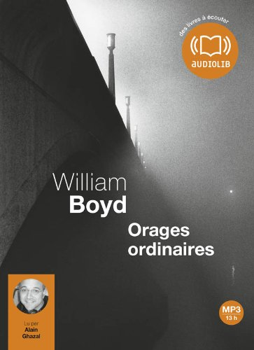 Orages ordinaires - Audio livre 2CD MP3
