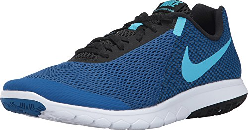 Nike Flex Experience RN 6 Mens Running Shoes Blue Jay/Blue Fury-Black-White 11.5 (Nike Flex Fury)