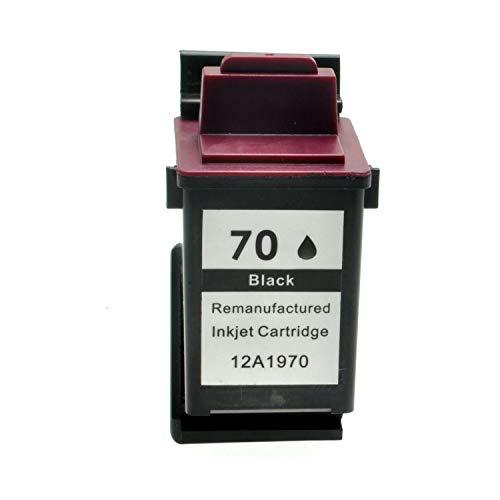 Tintenpatrone für Lexmark Nr.70 75 - Schwarz, kompatibel -