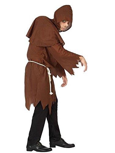 Glöckner Kostüm - ATOSA 26910 Karnevalskostüm, Braun, 52/54
