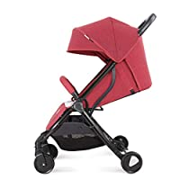 KKCD - Baby Pram 4 Wheel Pushchair from Birth Up to 25 Kg, Buggy with Lying Position, Ultra Light Folding Baby Stroller Child Trolley Buggy (Color : B)