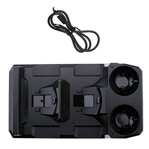 PSVR Move Controller / PS4 Controller Ladestation Ladegerät Ladeständer für PlayStation VR PlayStation 4 Controller
