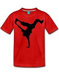 Spreadshirt Breakdance Silhouette Breakdanseur T-shirt Premium Ado