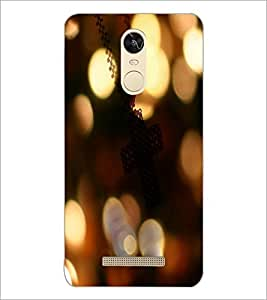 PrintDhaba Pattern D-3965 Back Case Cover for XIAOMI REDMI NOTE 3 PRO (Multi-Coloured)