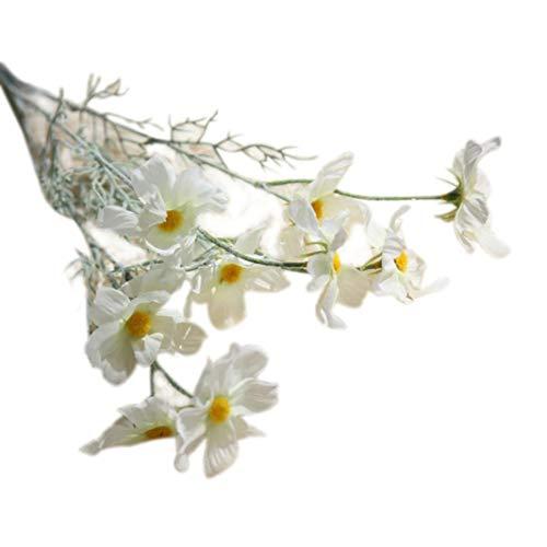 (Tagether DIY Künstliche Seide Gefälschte Blumen Blatt Hochzeit Wohnkultur Hot Weiss 4Pcs Calla Lily Unechte Plastikpflanzen Zantedeschia Deko Pflanze für Topf Balkon Feiern())