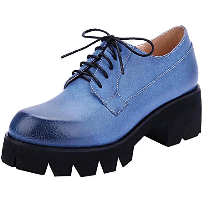 MissSaSa Femmes Escarpins Bout Ronde B07DCNZ6TD Plateformes Chaussures Derbies Oxford - B07DCNZ6TD Ronde - fad7b0