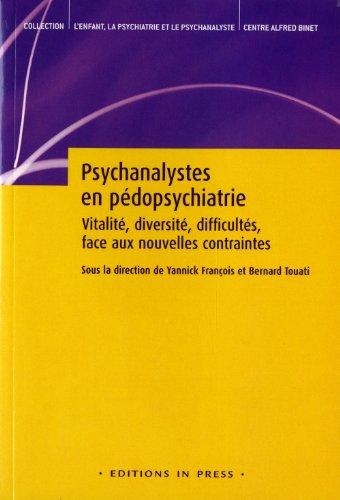 Psychanalystes en pédopsychiatrie